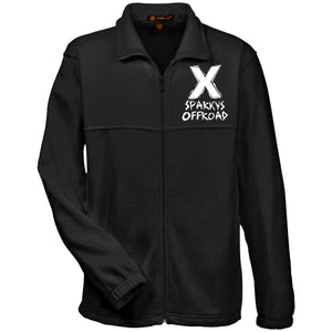 Sparky's Offroad embroidered M990 Harriton Fleece Full-Zip