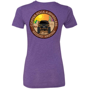 Copper Rock 4-Wheelers 2-sided print NL6710 Ladies' Triblend T-Shirt