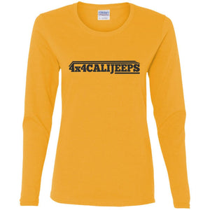 California Jeeps G540L Gildan Ladies' Cotton LS T-Shirt