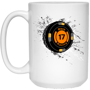 Black 17 21504 15 oz. White Mug