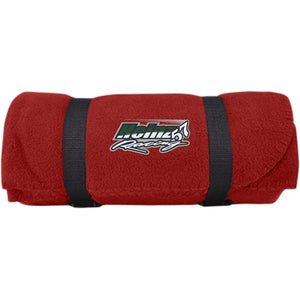 H57 Racing embroidered logo BP10 Port & Co. Fleece Blanket