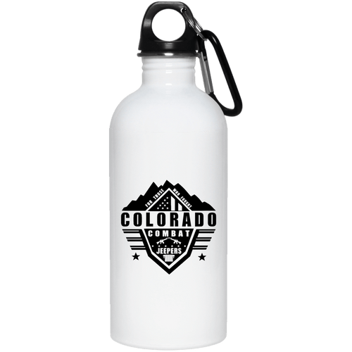 Colorado Combat Jeepers 23663 20 oz. Stainless Steel Water Bottle