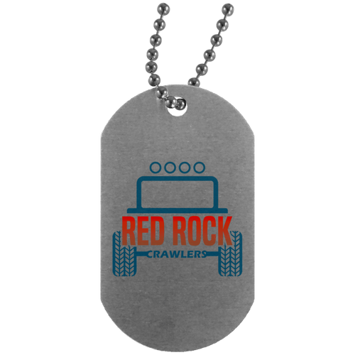 Red Rock Crawlers UN4004 Dog Tag
