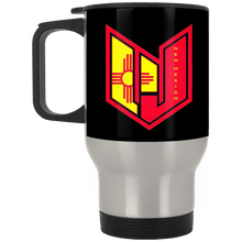 Wicked Jeeps NM XP8400S Silver Stainless Travel Mug