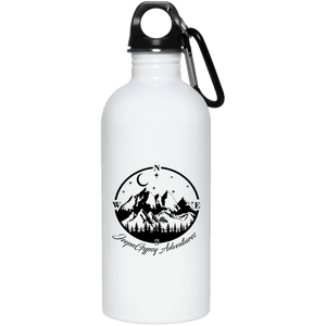 JeepnGypsy compass 23663 20 oz. Stainless Steel Water Bottle