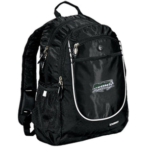 H57 Racing embroidered logo 711140 OGIO Rugged Bookbag