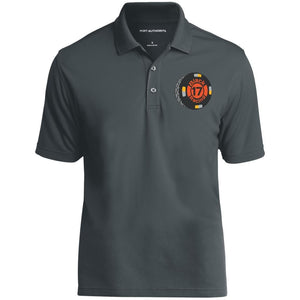 Black 17 embroidered K110 Port Authority Dry Zone UV Micro-Mesh Polo