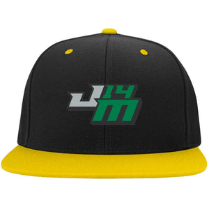 John Moul Racing embroidered logo STC19 Sport-Tek Flat Bill High-Profile Snapback Hat