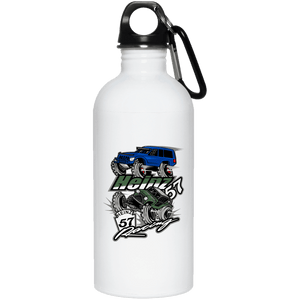 H57 Racing 23663 20 oz. Stainless Steel Water Bottle