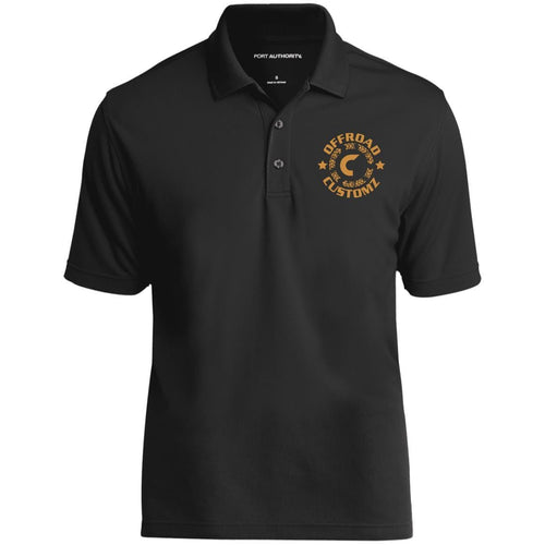 Offroad Customz gold embroidered logo K110 Port Authority Dry Zone UV Micro-Mesh Polo