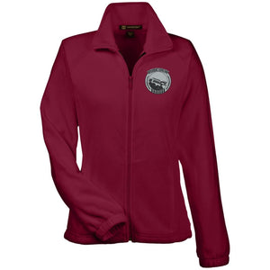 Rubiconjk silver embroidered logo M990W Harriton Women's Fleece Jacket