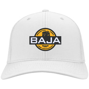 BAJA embroidered logo CP80 Port & Co. Twill Cap