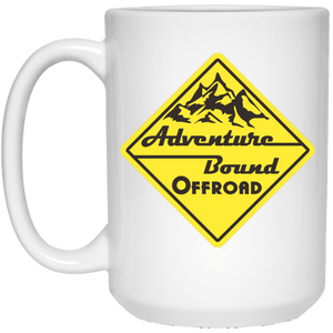 Adventure Bound Offroad 21504 15 oz. White Mug