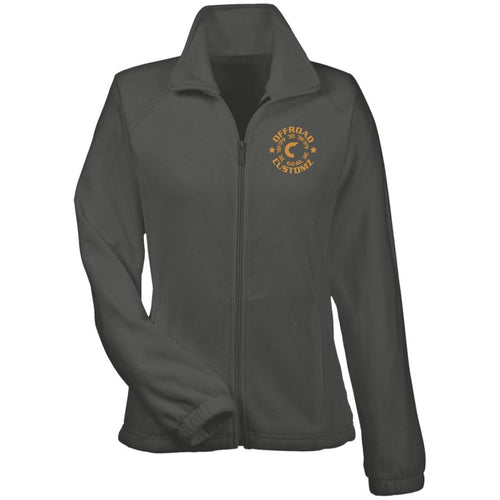 Offroad Customz gold embroidered logo M990W Harriton Women's Fleece Jacket
