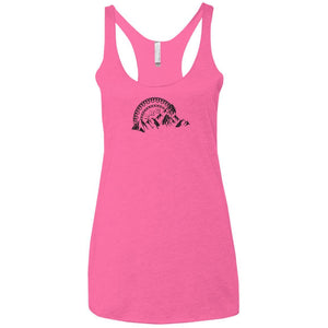 Rockland Rock Crawlers NL6733 Next Level Ladies' Triblend Racerback Tank