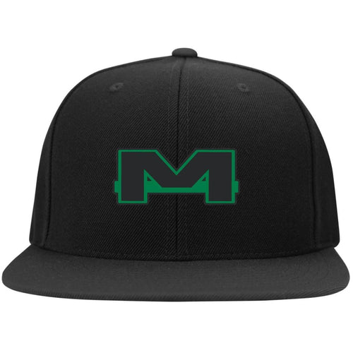 MOAB Motorsports embroidered STC19 Sport-Tek Flat Bill High-Profile Snapback Hat