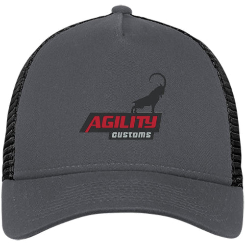 Agility Customs embroidered NE205 New Era® Snapback Trucker Cap