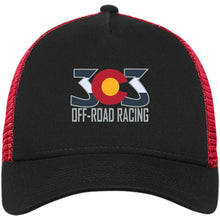 303 Off-road Racing embroidered logo NE205 New Era® Snapback Trucker Cap