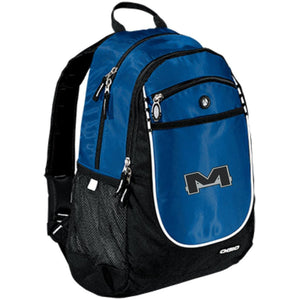 MOAB Motorsports silver embroidered 711140 OGIO Rugged Bookbag
