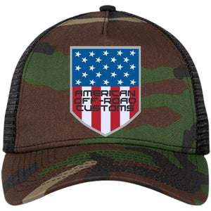 American Off-Road embroidered logo NE205 New Era® Snapback Trucker Cap