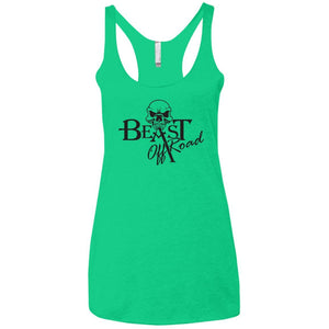 Beast Off-Road NL6733 Next Level Ladies' Triblend Racerback Tank