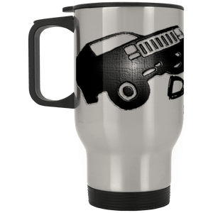 Dale Racing full wrap around logo XP8400S Silver Stainless Travel Mug
