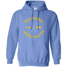 Southern Jeeps Militia G185 Gildan Pullover Hoodie 8 oz.