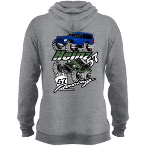 H57 Racing 2-sided print PC78H Port & Co. Core Fleece Pullover Hoodie