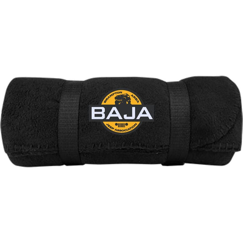 BAJA embroidered logo BP10 Port & Co. Fleece Blanket