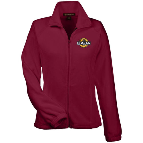 BAJA embroidered logo M990W Harriton Women's Fleece Jacket