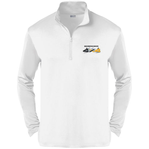 HMR embroidered logo ST357 Sport-Tek Competitor 1/4-Zip Pullover