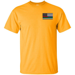 Unity Flag front & Jeeps Against Veteran Suicide back G200 Gildan Ultra Cotton T-Shirt