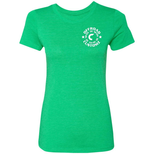 Offroad Customz 2-sided print NL6710 Ladies' Triblend T-Shirt