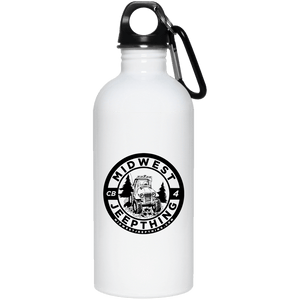 MWJT 23663 20 oz. Stainless Steel Water Bottle