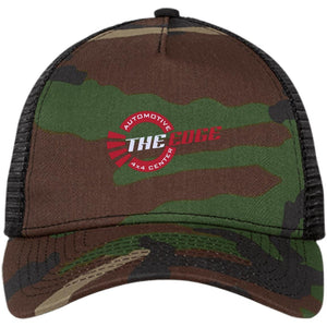 The Edge Automotive embroidered NE205 New Era® Snapback Trucker Cap