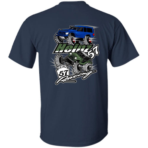 H57 Racing 2-sided print G200B Gildan Youth Ultra Cotton T-Shirt