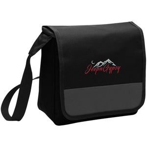 JeepnGypsy silver & red embroidered BG753 Port Authority Lunch Cooler