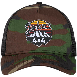 John's 4x4 embroidered NE205 New Era® Snapback Trucker Cap