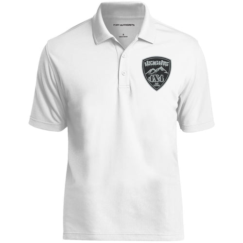 Heights 4x4 embroidered logo K110 Port Authority Dry Zone UV Micro-Mesh Polo