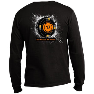 Black 17 Port & Co. LS Made in the US T-Shirt