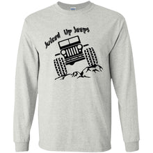 Juiced Up Jeeps G240 Gildan LS Ultra Cotton T-Shirt
