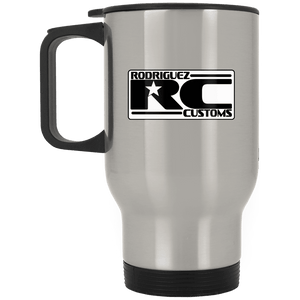 Rodriguez Customs XP8400S Silver Stainless Travel Mug