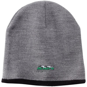 Hundt's Motorsports silver embroidered CP91 100% Acrylic Beanie