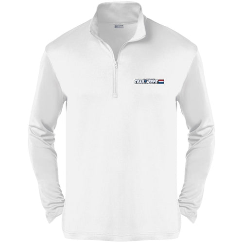 Trail Jeeps embroidered logo ST357 Sport-Tek Competitor 1/4-Zip Pullover