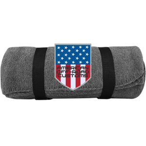 American Off-Road embroidered logo BP10 Port & Co. Fleece Blanket