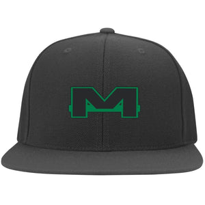 MOAB Motorsports embroidered 6297F Flat Bill Fullback Twill Flexfit Cap
