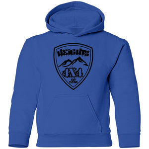 Heights 4x4 crest G185B Gildan Youth Pullover Hoodie