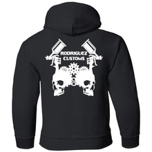 Rodriguez Customs 2-sided print G185B Gildan Youth Pullover Hoodie