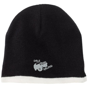 Dale Racing silver embroidered logo CP91 100% Acrylic Beanie