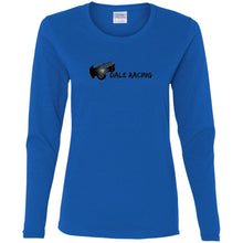 Dale Racing G540L Gildan Ladies' Cotton LS T-Shirt